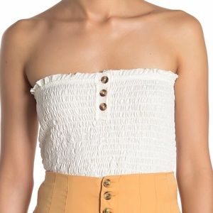 NWT Free People Babe Tube Top